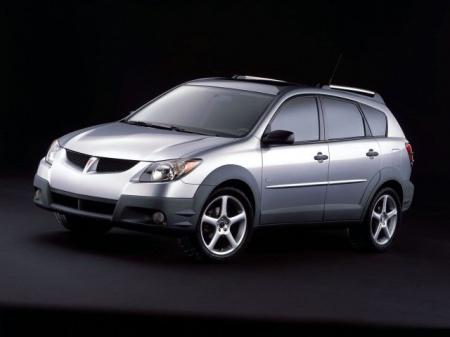 Pontiac Vibe. Технические характеристики автомобиля