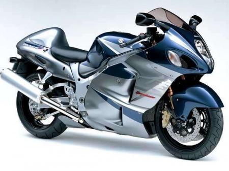 Мотоцикл Сузуки Хаябуса. Отличный спортбайк