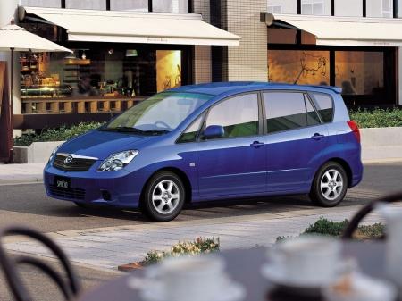 Toyota Corolla Spacio. Технические характеристики автомобиля